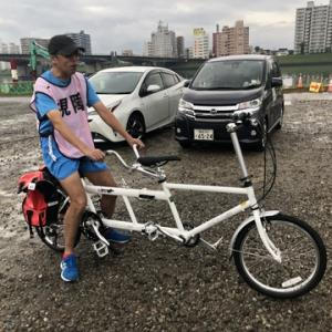 宮崎県伴走者協会さんとプチタンデム体験。