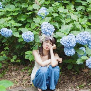 """紫陽花と女子の6月 """"コンプレックスさえ美しく"""""""""""