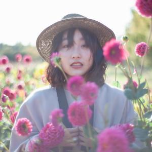 本日28日最終開園日♡世羅高原ダリア女子