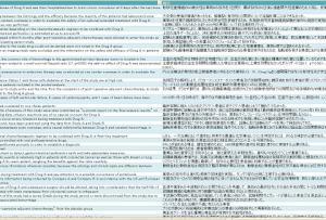 臨床関係 78対訳 収録