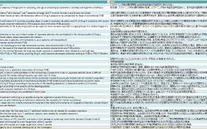 臨床関係 76対訳 収録