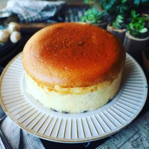 チーズケーキ色々❤️と、めちゃめちゃ綺麗に焼けました❤️ふわんしゅわ~んスフレチーズケーキ♪