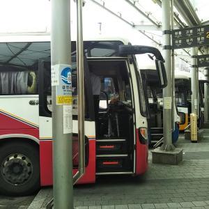 浦項市外バスターミナル内のキンパッナラでマンドゥラミョン