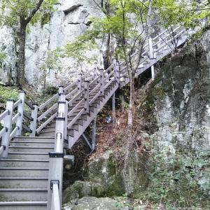浦項ポハンの内延山12瀑布散策、⑤展望台