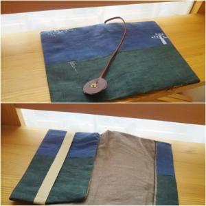 手作りブックカバーのプレゼント