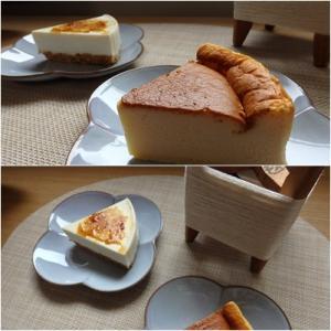 ロールケーキの日だけどチーズケーキを
