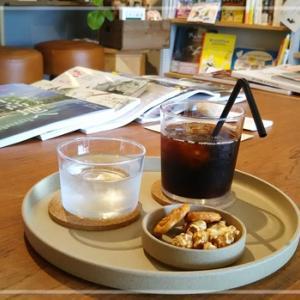 初めて一人で本屋カフェへ