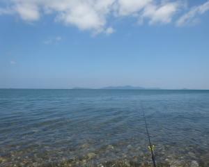 滋賀の志賀浜(琵琶湖)でコアユ釣り