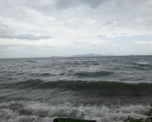 滋賀 大波の琵琶湖でコアユ釣り 2019 志賀浜