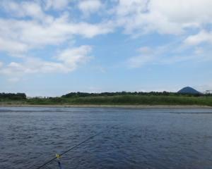 滋賀 野洲川で小鮎釣り 2019 連投