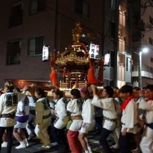9/14, 牛嶋神社のお祭り