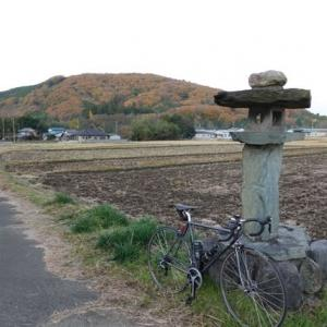 12/8, 里山サイクリングで小川和紙マラソン応援に