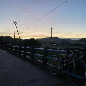 今週の里山早朝サイクリングなどなど