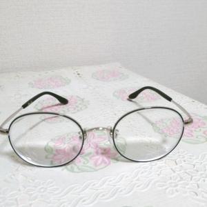 眼鏡を買ったよ✩.*˚