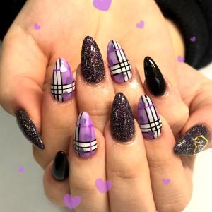おすすめ!紫nail♪♪