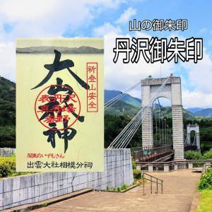 【神奈川】登山安全祈願!! 新たにいただけるようになった山の御朱印「丹沢御朱印」