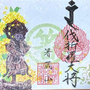 【徳島】こんぴら奥の院「箸蔵寺」でいただいたステキな【月替わり御朱印】郵送対応あり
