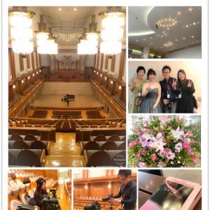 ご報告★9/22佐渡千春ピアノリサイタルVol.6の撮影に行ってまいりました!
