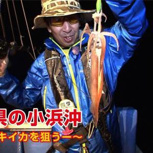 日本海でイカメタル・パラソル級連発で絶好調!【四季の釣り】