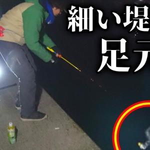 堤防の足元で高級魚を釣り上げろ!!【釣りよかでしょう。】