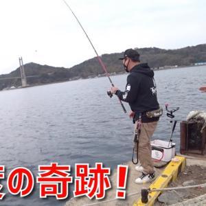 近所の船着き場でチヌ釣りしてたらまさか!奇跡が何と2度起きた!【釣りみにまにも】