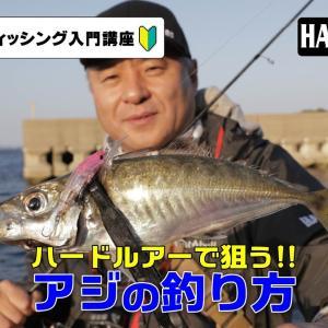 【ルアー入門講座】ハードルアーで狙うアジの釣り方【DUELMOVIE】