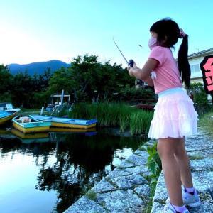 釣りガールちゃんたちと一緒にバス釣りしてみた!琵琶湖【魚住つばき】