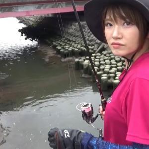 温泉が流れ込む川で異常繁殖した外来生物を釣って食べてみた。【りんたこみっぴの釣りキャンプ】