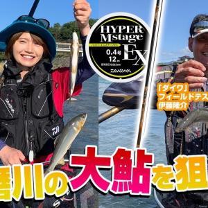 球磨川の大鮎を狙え!【釣り時季】