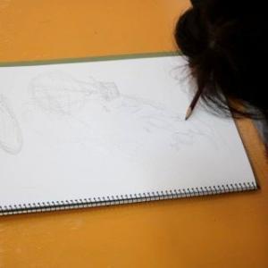『色鉛筆を発色させるには』8/11のクリエイティブコース