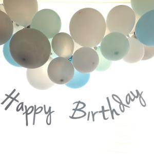 次男2歳誕生日会*プレゼントと飾り付け