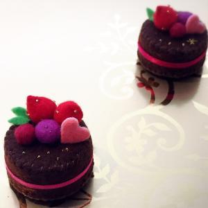 チョコレートケーキ出来ました♡