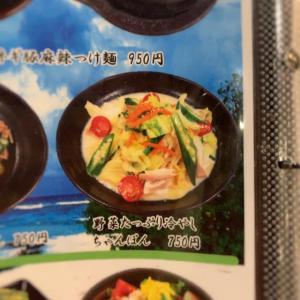 菜々の湯の冷やしちゃんぽん