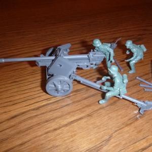 ドイツ陸軍 75mm 対戦車砲 素組立