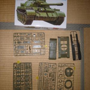1/35 ソビエト戦車 T-55A 中身