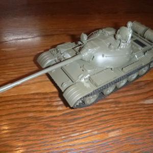 塗装過程:1/35 ソビエト戦車 T-55A