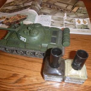1/35 ソビエト戦車 T-55A ほこり汚れ