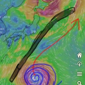 【台風19号の勢力低下と日本回避のための祈り】みんなの祈りの力とイメージ力で日本を守るよ!