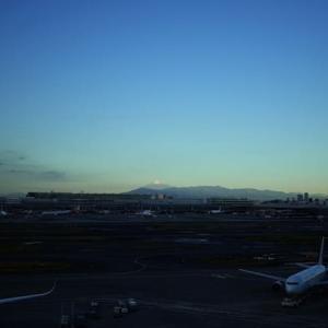 羽田からの富士