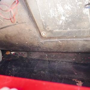 エスプリのトランク内は驚異的な熱さ