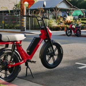 昨日の電動バイクはBIRDのレンタルだった