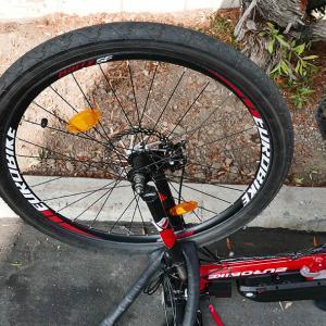 また自転車がパンク