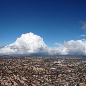 雨の後の雲