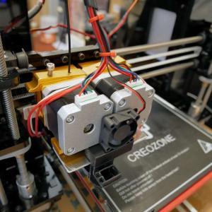 3Dプリンターを2色印刷に改造