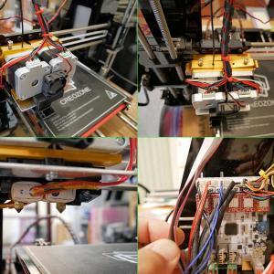 2色印刷の3Dプリンターが完成