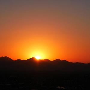 日の出の位置が急速に変わってる