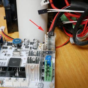 3Dプリンターの基板のコネクターが焼けてた