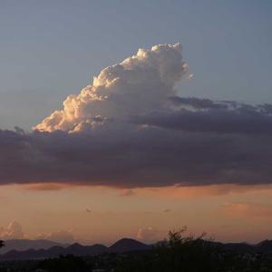 日本の様な雲
