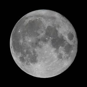 見事な中秋の名月