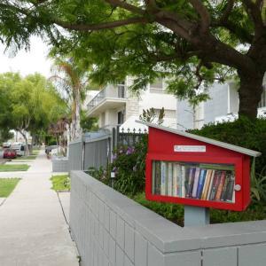ロスにも沢山あった小さな図書館
